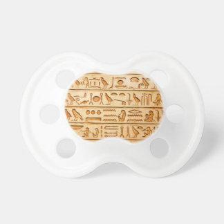 hieroglyphics hieroglifos pacifier