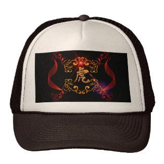 Hieroglyphics, la muestra del tigre gorras de camionero