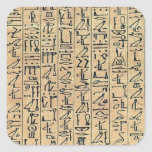 Hieroglyphics Pegatina Cuadrada