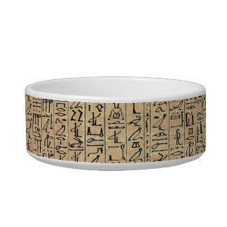 Hieroglyphics Pet Bowl
