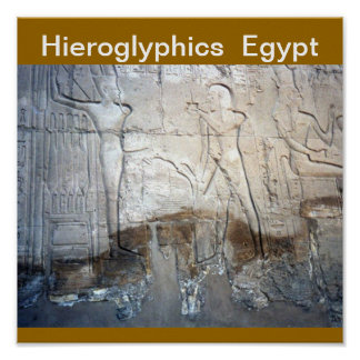 Hieroglyphics  Print