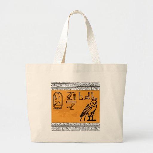 Hieroglyphics Tote Bag