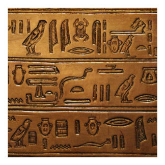 Hieroglyphs 2014-1020 poster