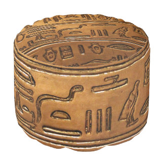 Hieroglyphs 2014-1020 pouf