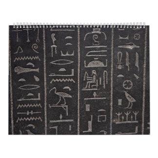 Hieroglyphs 2 calendar