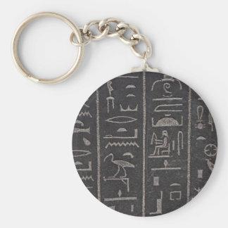 Hieroglyphs 2 keychain