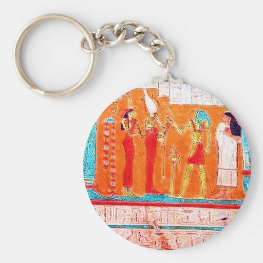 Hieroglyphs Keychain