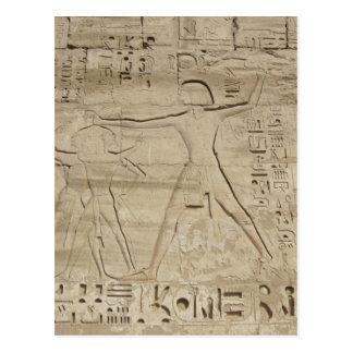 Hieroglyphs postcard, customize postcard