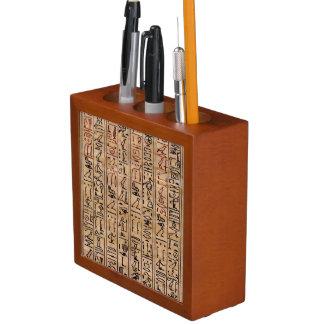 Hieroglyphs: Spells of the Amulets Desk Organizers