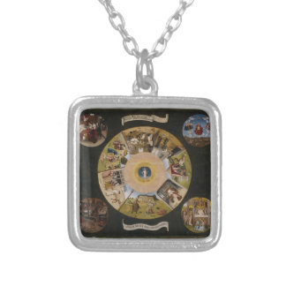 Hieronymus Bosch- 7 Deadly Sins & 4 Last Things Necklaces