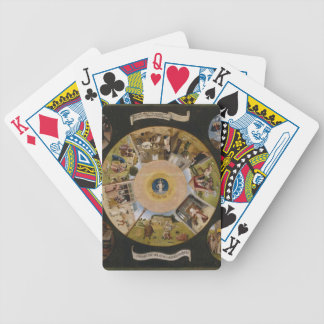 Hieronymus Bosch- 7 Deadly Sins & 4 Last Things Bicycle Poker Deck
