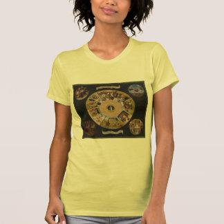 Hieronymus Bosch- 7 Deadly Sins & 4 Last Things T Shirt