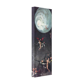 Hieronymus Bosch - Ascent of the Blessed Canvas Print