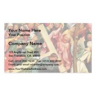 Hieronymus Bosch- Christ Carrying the Cross Double-Sided Standard Business Cards (Pack Of 100)