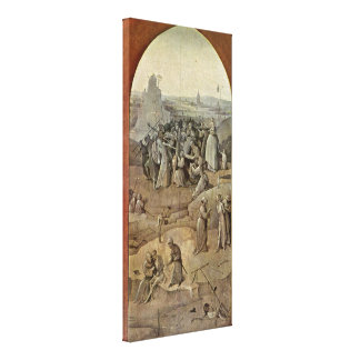 Hieronymus Bosch - Christ Carrying the Cross Canvas Print