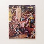 Hieronymus Bosch - el jardín del detalle PUZZL del Puzzle