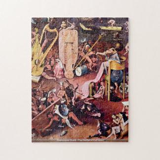 Hieronymus Bosch - el jardín del detalle PUZZL del Rompecabeza