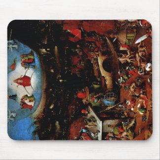 Hieronymus Bosch el juicio pasado Alfombrilla De Ratones