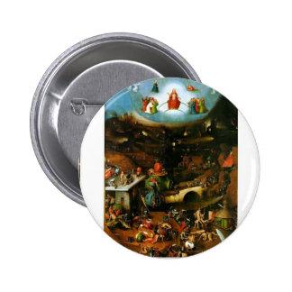 Hieronymus Bosch el juicio pasado Pins