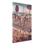 Hieronymus Bosch - el vendedor ambulante Impresión En Lienzo Estirada