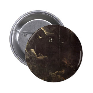 Hieronymus Bosch- Fall of the Damned Pin