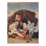 Hieronymus Bosch Haywain (detalle) Postales