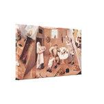 Hieronymus Bosch - Intemperance Stretched Canvas Prints