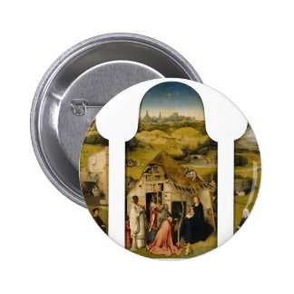 Hieronymus Bosch la adoración de unos de los reyes Pin