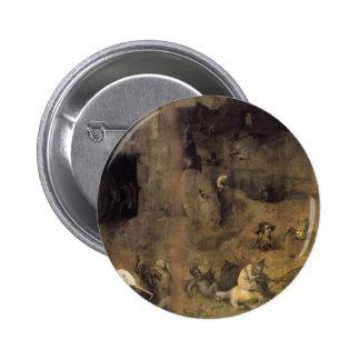 Hieronymus Bosch la caída de los ángeles rebeldes Pins