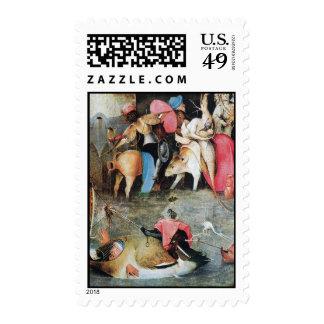 Hieronymus Bosch painting art Stamp