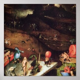 Hieronymus Bosch painting art Print