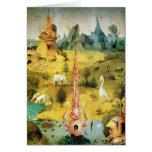 Hieronymus Bosch que pinta arte Felicitacion