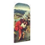 Hieronymus Bosch - Saint Christopher Stretched Canvas Print