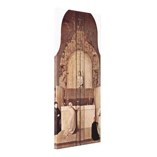 Hieronymus Bosch - Saint Gregorys Mass Canvas Prints