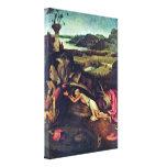 Hieronymus Bosch - santo Jerome Impresión De Lienzo