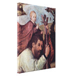 Hieronymus Bosch - St Christopher , Stretched Canvas Prints