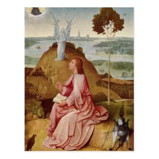 Hieronymus Bosch- St John the Evangelist on Patmos Postcard
