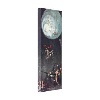Hieronymus Bosch - subida del bendecido Impresiones En Lienzo Estiradas