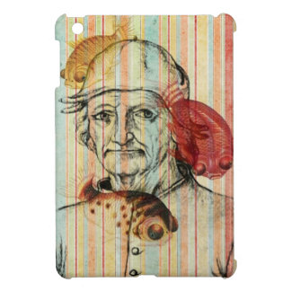 Hieronymus Bosch Surreal Vintage Portrait Stripes Cover For The iPad Mini