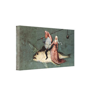 Hieronymus Bosch - Temptation of St Anthony Stretched Canvas Prints