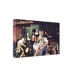 Hieronymus Bosch - Temptation of StAnthony Canvas Prints