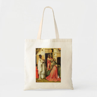 Hieronymus Bosch- The Adoration of Magi detail Tote Bag
