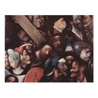 Hieronymus Bosch- The Carrying of the Cross Postcard