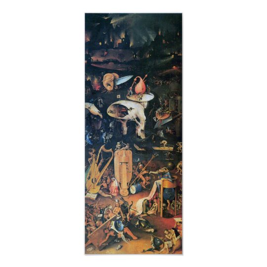 Hieronymus Bosch,The Garden of Delights, Hell Poster