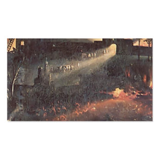 Hieronymus Bosch- The Garden ofEarthly Delights Double-Sided Standard Business Cards (Pack Of 100)
