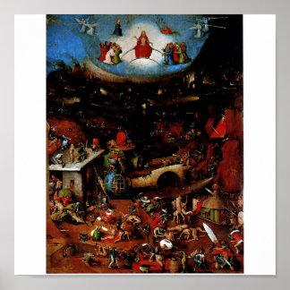 Hieronymus Bosch The Last Judgement Print