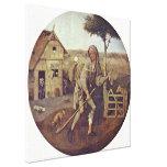 Hieronymus Bosch - The Pedlar Canvas Print