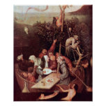 Hieronymus Bosch-The Ship of Fools Poster
