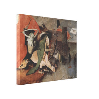 Hieronymus Bosch- The Temptationof St.Anthony Canvas Prints