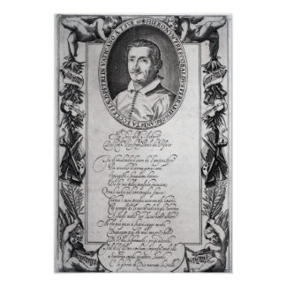 Hieronymus Frescobaldi, engraved by Christian Poster